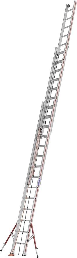Hymer ELKOP – Escalera, 3 piezas SC60, 3 x 14 peldaños, 626142: Amazon.es: Bricolaje y herramientas