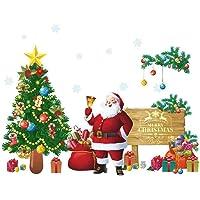 بوونتي اصنعها بنفسك ملصقات ديكور عيد الميلاد ملصقات ديكور ديكور عيد الميلاد لحفلات الكريسماس (النمط 1)