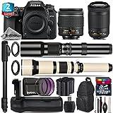 Holiday Saving Bundle for D7500 DSLR Camera + AF-P 70-300mm VR Lens + 650-1300mm Telephoto Lens + AF-P 18-55mm + 500mm Telephoto Lens + Battery Grip + 2yr Extended Warranty - International Version