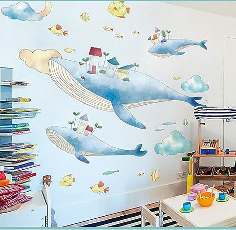 Cuisine Stickers Muraux Violet Cartoon Bébé Enfants Chambre