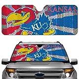 NCAA Kansas Jayhawks Auto Sun Shade by Team ProMark