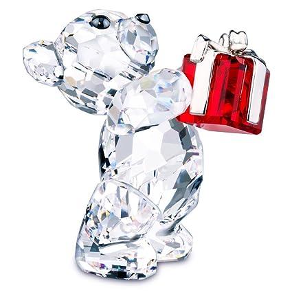 bb49367916 Amazon.com: 5103231 Swarovski Kris Bear A Gift For You Figurine ...