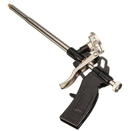 Pistola Espuma Poliuretano,GOCHANGE PU Espuma de Expansión Pistola de Calafateo/Cuerpo de Metal