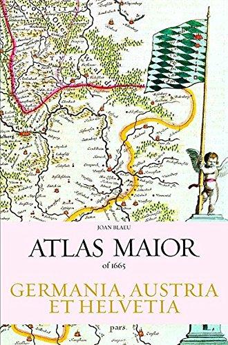 Atlas Maior - Germania, Austria et Helvetia, 2 Volume (Joan Blaeu Atlas Maior 1665)