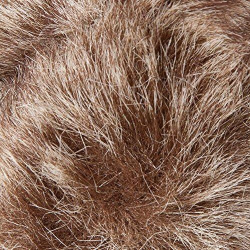 colore Accessoryo Orecchie di in in moda o oversize beige misto invernale termiche sintetica pelliccia marrone disponibili qBPrgqxw