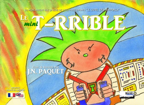 Le Mini T Rrible Bilingue Francais Anglais Le T Rrible T