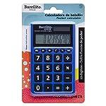Barrilito 8046CBB Calculadora de Bolsillo de 12 Dígitos