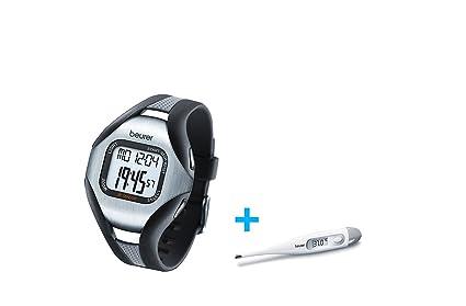 BEURER PM 18 Pulsómetro sin correa pectoral + Termometro digital de regalo