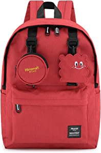 Himawari School Backpack with Laptop Compartment for Girls, Cute 16 Inch Book Bag for College Students, Casual Daypack