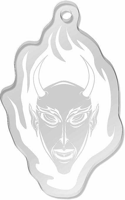 Cara del Diablo Llavero Grande (AK00013380): Amazon.es ...