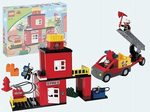 Amazon.com: LEGO Duplo LegoVille 4664 Fire Station: Toys & Games