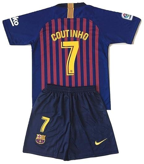 brand new e4950 dad0e Amazon.com : Ninakova2018 Coutinho #7 FC Barcelona 2018-2019 ...