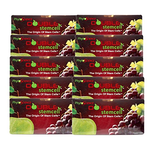 10 Packs of Phytoscience Apple Grape Double Stemcell (140 Sachets) Origin Stem cell Swiss Quality Formula