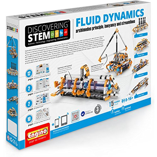 Engino Discovering STEM Fluid Dynamics | 5 Working Models | Illustrated Instruction Manual | Theory & Facts | Experimental Activities | STEM Construction Kit by Engino (Image #5)