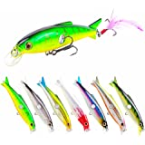 SeaKnight Suspending Minnow Sea Fishing Lures for Bass Pike