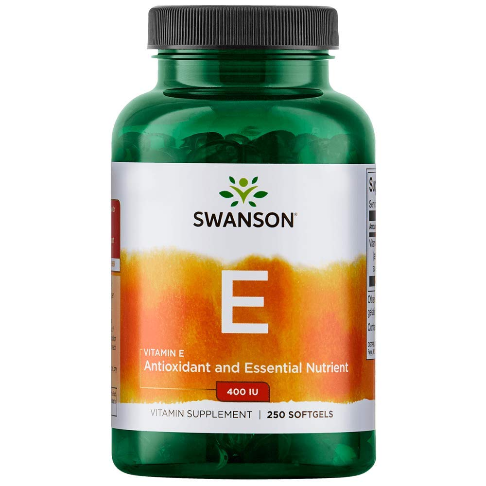 Swanson Natural Vitamin E 400 Iu (268 Milligrams) 250 Sgels