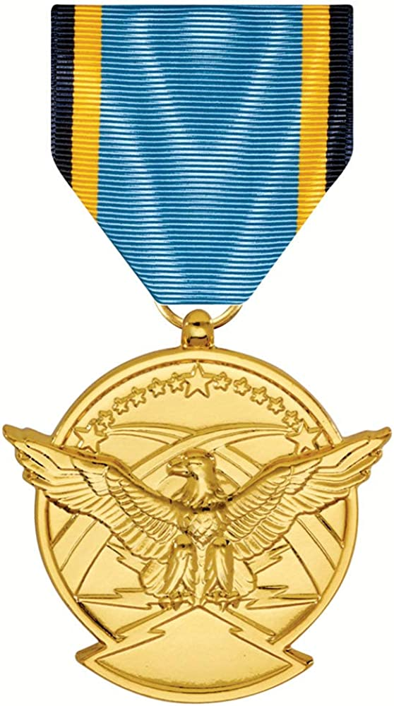 Aerial Achievement Medal Anodized