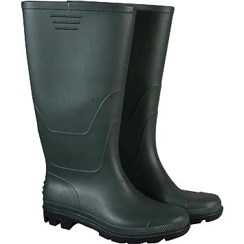 BOYS MENS GREEN DUNLOP WELLINGTONS SNOW RAIN BOOTS SIZES UK 3-12