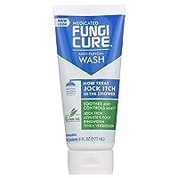 FungiCure Medicated Anti-Fungal Jock Itch Wash - Treat Jock Itch in The Shower - 6 fl oz