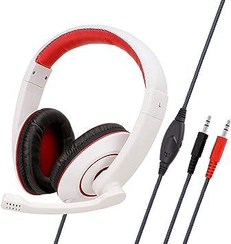 Auriculares Juegos Ps4, con Microfono Diadema Ajustable, Bass 3 ...