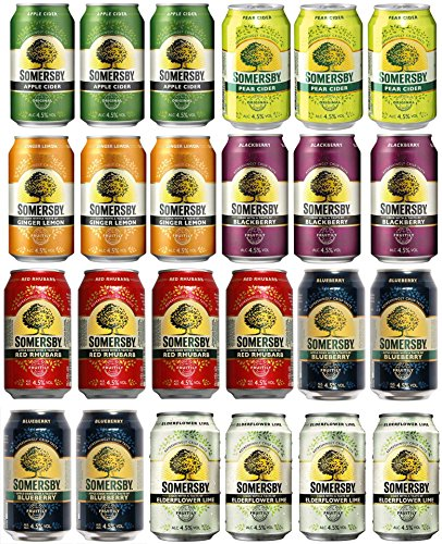 Somersby - Cider Probier-Set II 4,5% Vol. - 24x0,33l