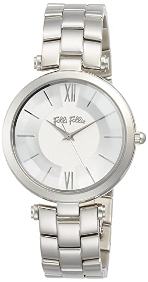 follifollie Lady Bubble cinturón de acero inoxidable reloj M wf16t010bps-xx Ladies