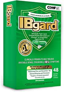 IBgard ®, Natural Health Product for the relief of IBS by IM HealthScience LLC (48 Capsules or $0.73 per Capsule)