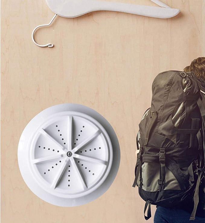 Mini Portátil Pequeña Lavadora de Turbina Ultrasónica USB Viaje ...