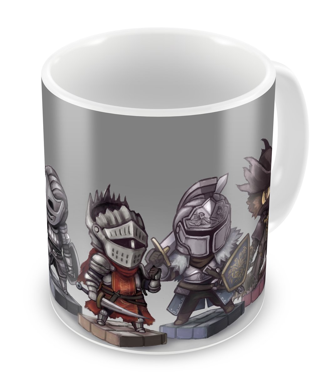 Instabuy Tazza Dark Souls (L) - Characters Cup Easy Exp & Imp Limited