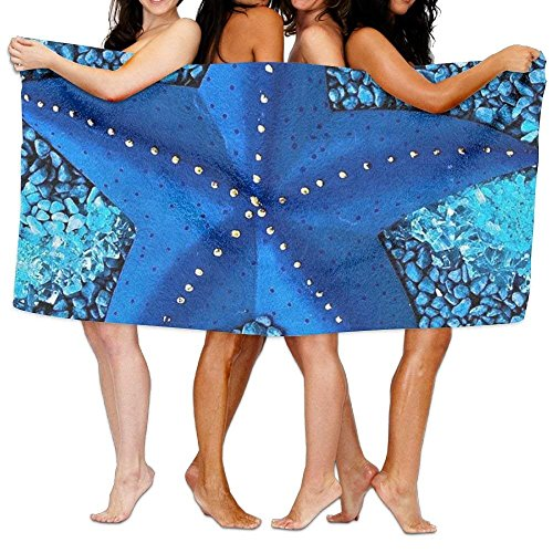 51 best Sheet Bath amp; 31 Inch Starfish Bath Towel Beautiful Adult Towel Microfiber X Blue axf1aAS