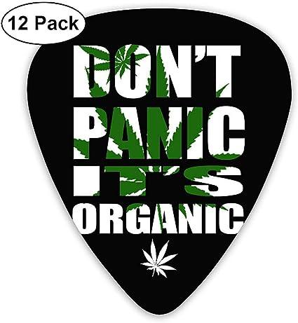 Don T Panic It S Púas orgánicas para guitarra (paquete de 12 ...