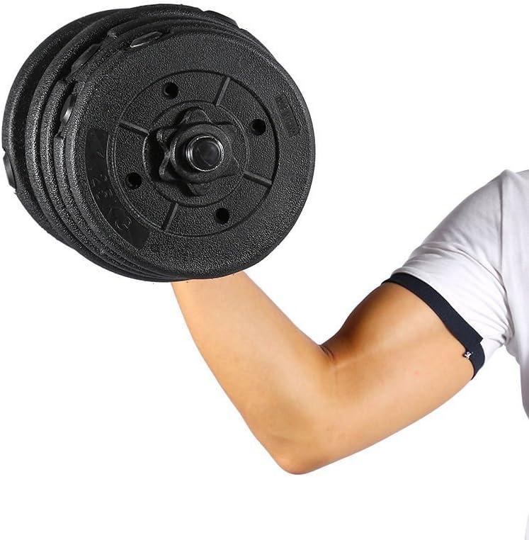 10 kg GOTOTOP allenamento di forza per palestra regolabili Set di manubri e barre 2 in 1