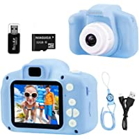 NIAGUOJI Cámara para niños, Mini cámara Digital Recargable para niños, videocámara de Video, Regalos para niños de 3 a 8…