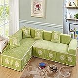 XH@G All-Season Home Textiles Full coverage Universal non-slip universal sofa towel combination Sofa cover , 3 , 200200single seat