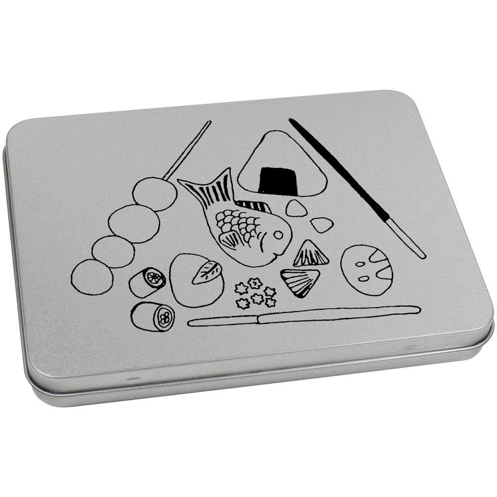 Azeeda 170mm x 130mm Dulces Japoneses Caja de Almacenamiento / Lata de Metal (TT00071876): Amazon.es: Juguetes y juegos