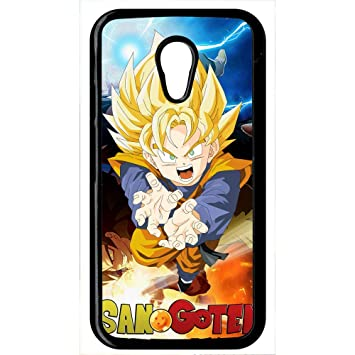 Carcasa Motorola Moto G2 Dragon Ball Son Goten Fury: Amazon ...