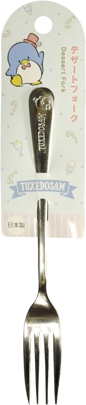 L Flatware Dessert Forks Kitchen Japan Sanrio Tuxedosam Stainless Dessert Fork 18.6cm