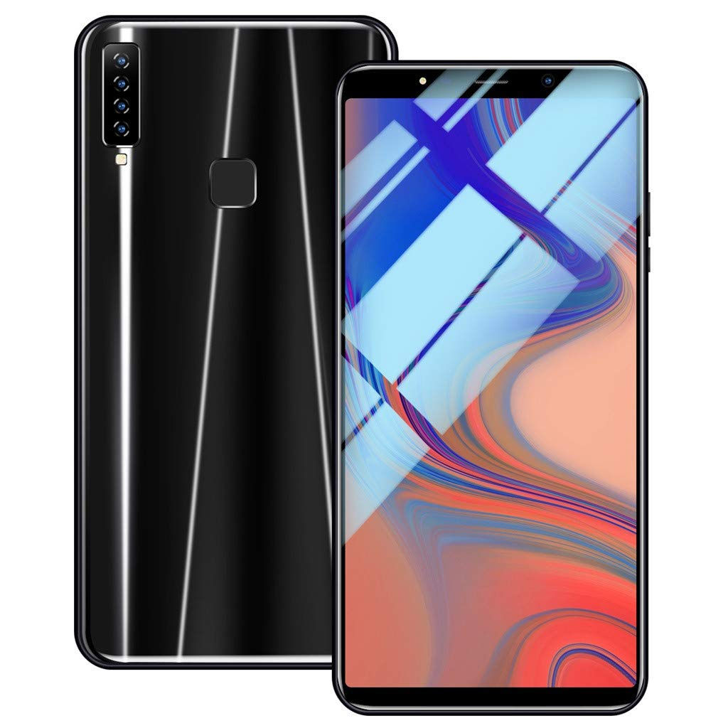 Matoen A9 Four Camera Smartphone Eight Cores 6.1 inch Dual HD Camera Smartphone Android16GB Dual SIM Mobile Phone (Black) by Matoen (Image #5)