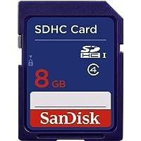 SanDisk SDSDB-008G-B35 Tarjeta de Memoria SDHC de 8 GB