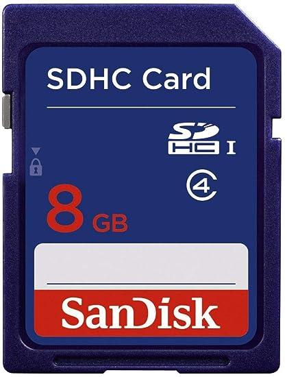 SanDisk SDSDB-008G-B35 Tarjeta de Memoria SDHC de 8 GB: Amazon.es ...