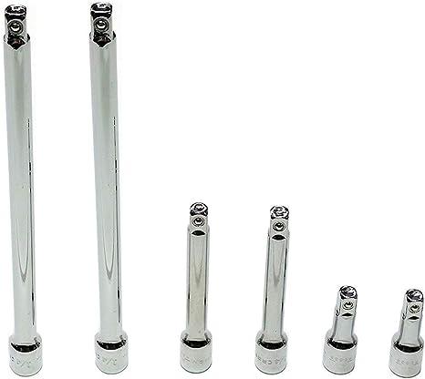 "NEW Craftsman 6-Piece 1//4-Inch Drive Ratchet Socket Extension Accessory Set 1//4/"""