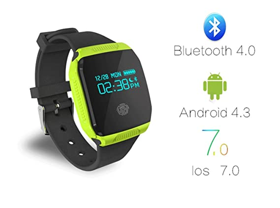 Amazon.com: SmartWatch Nueva Waterproof Watch e07s ...