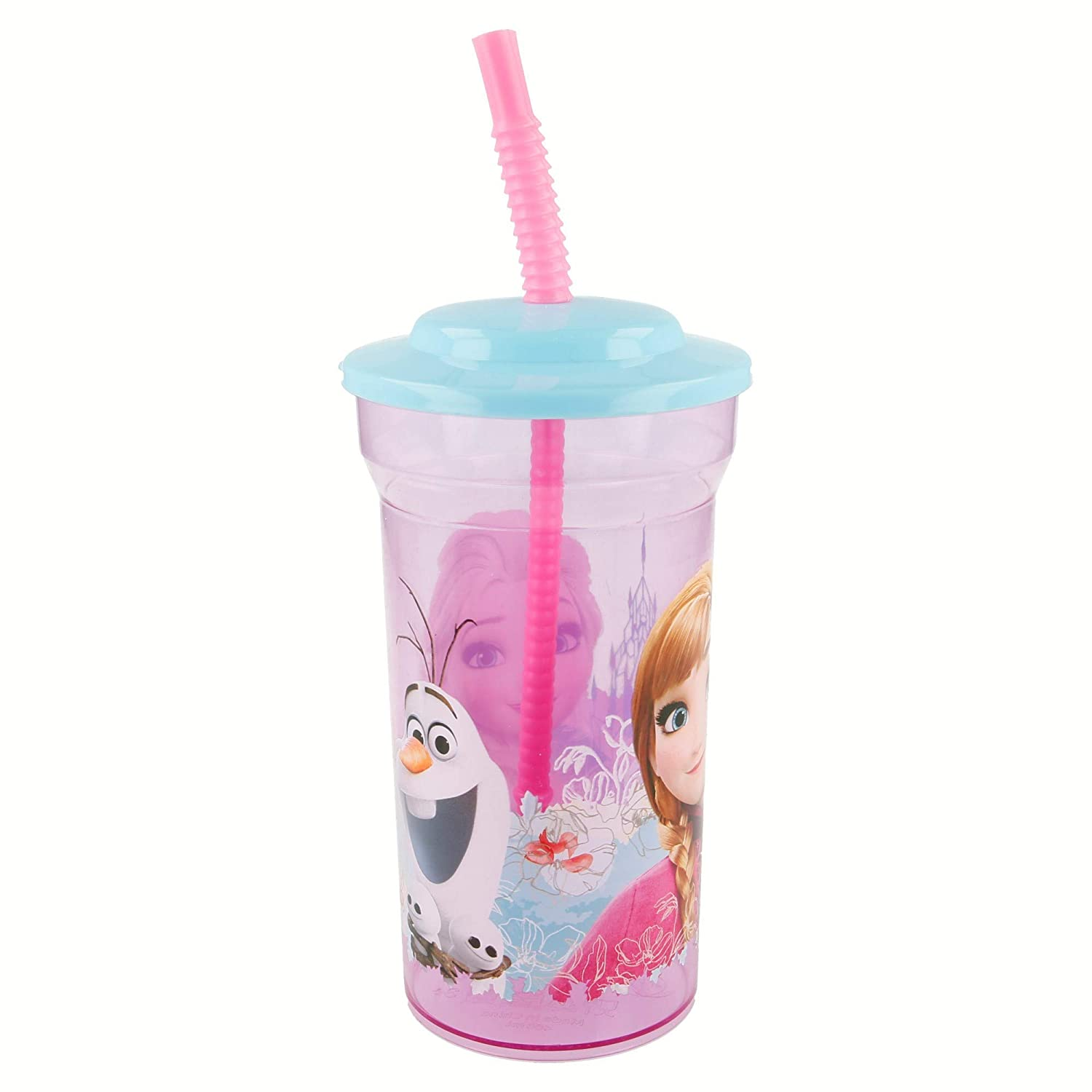 Stor Becher Schaft transparent B 460/ ml Frozen Floral