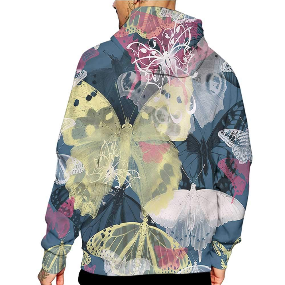 Unisex 3D Novelty Hoodies Abstract,Color Splashes Funky,Sweatshirts for Women