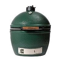 XLarge Keramikgrill Big Green Egg grün Keramik XXL Ceramic Smoker Garten ✔ Deckel ✔ oval ✔ stehend grillen ✔ Grillen mit Holzkohle