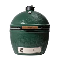 Big Green Egg XLarge Kamado Grill grün Keramik XXL Keramikgrill Garten ✔ Deckel ✔ oval ✔ stehend grillen ✔ Grillen mit Holzkohle