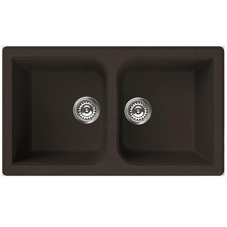 Granite Sink 2 Bowl/Venice Series 450 ELLECI Italian Quality Brand ...