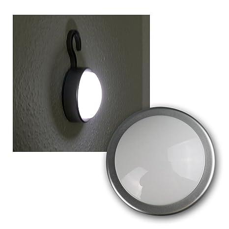 LED-luz del gabinete de la plata con ganchos para colgar, de ...