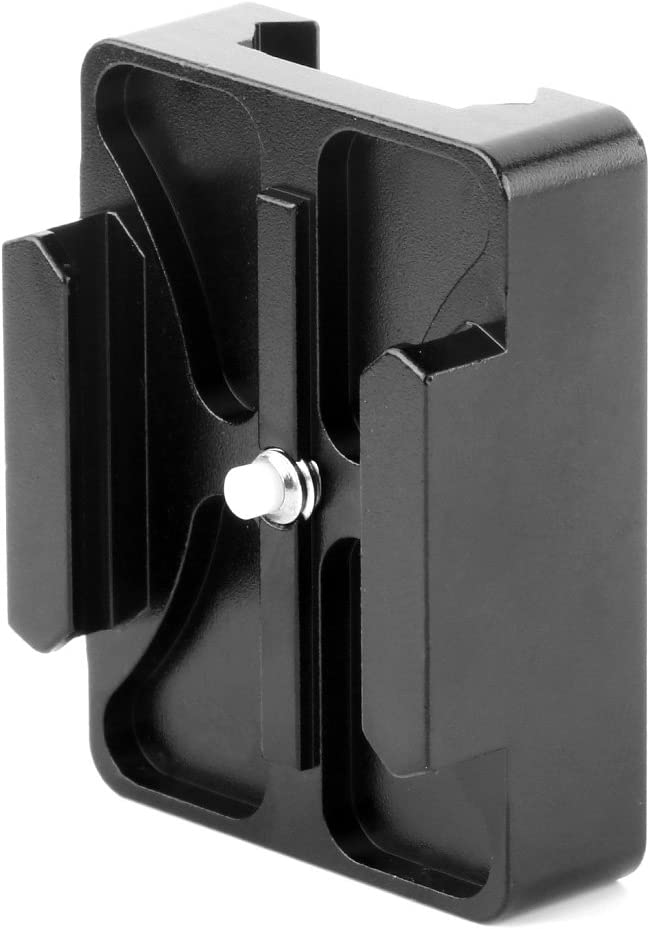 XT-XINTE New CNC Aluminum 20mm Mini Rail Mount Compatible for GoPro Hero 2 Camera Accessories Black Color Optional Parts SS06669