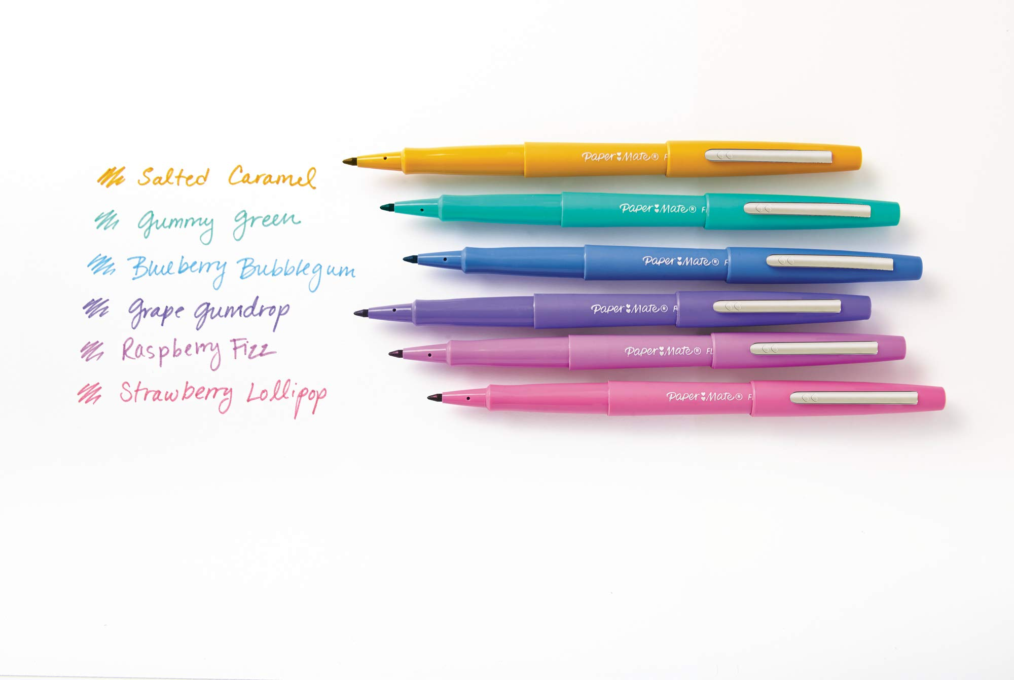 Paper Mate Flair Felt Tip Pens, Medium Point (0.7mm), Limited Edition Candy Pop Pack, 24 Count by Paper Mate (Image #5)